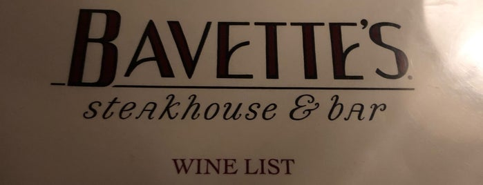 Bavette's Steakhouse & Bar is one of Posti salvati di Katie.