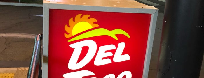 Del Taco is one of Mauricioさんのお気に入りスポット.