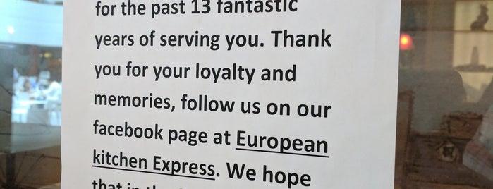 European Kitchen Express is one of LevelUp Merchants.