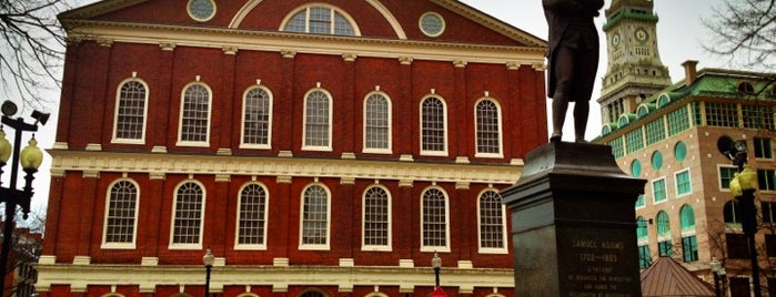 Faneuil Hall Building is one of Boston.