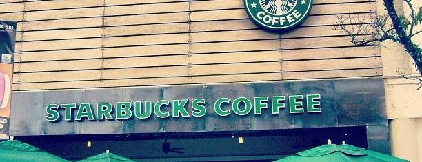 Starbucks is one of Tempat yang Disimpan Ronal.