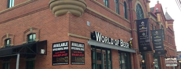 World of Beer is one of Tempat yang Disukai SchoolandUniversity.com.