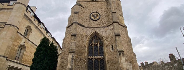 St. Botolph's Parish Church is one of 111 Cambridge places.