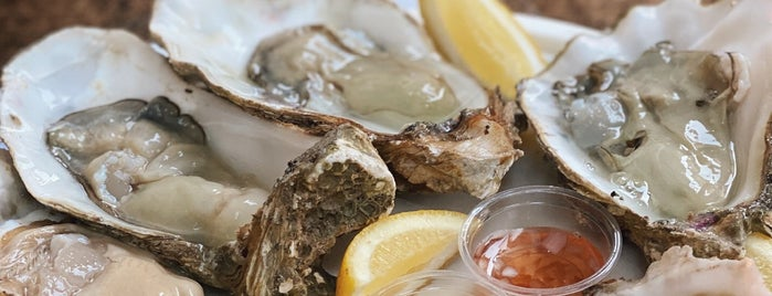 Richard Haward's Oysters is one of London for P' Arenui.