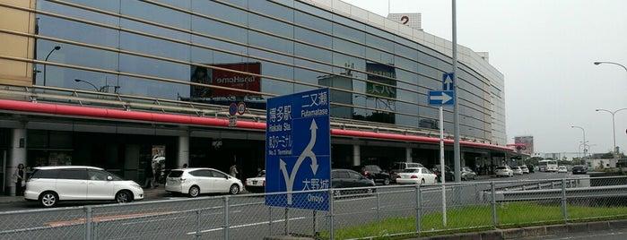 Fukuoka Airport (FUK) is one of badger.