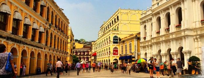 Senado Square is one of My Hong Kong Holiday.