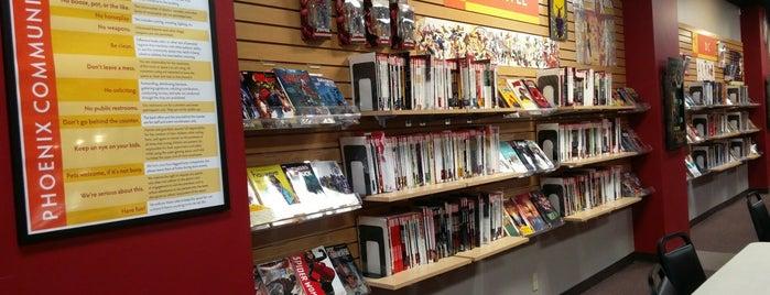 Phoenix Comics & Games is one of Seattle Fun.