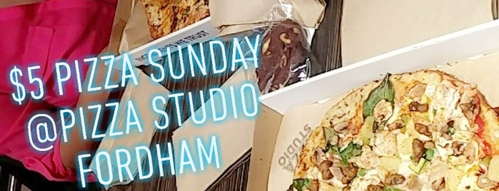 Pizza Studio - Fordham is one of Food.