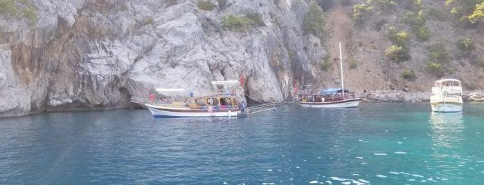 Olympos Mağaralar is one of Volkan'ın Beğendiği Mekanlar.