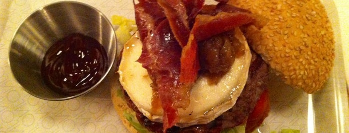 Oval is one of Burgers.