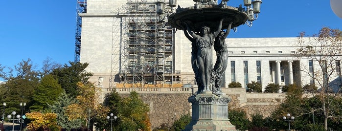 Bartholdi Fountain is one of 111 Places in Washington You Must Not Miss.