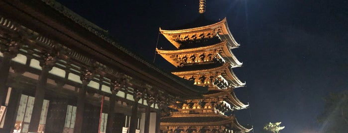 なら燈花会 興福寺会場 is one of まじめに気になるベニュー.