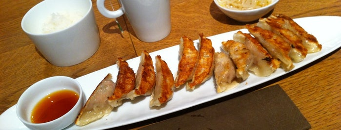 Gyoza Bar is one of A tester.