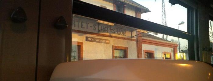 Gare SNCF de Portet-Saint-Simon is one of Lugares favoritos de Diana.