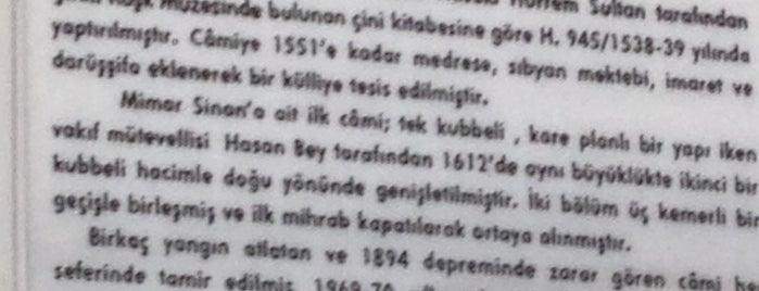 Haseki Sultan Camii is one of Gidilecek.