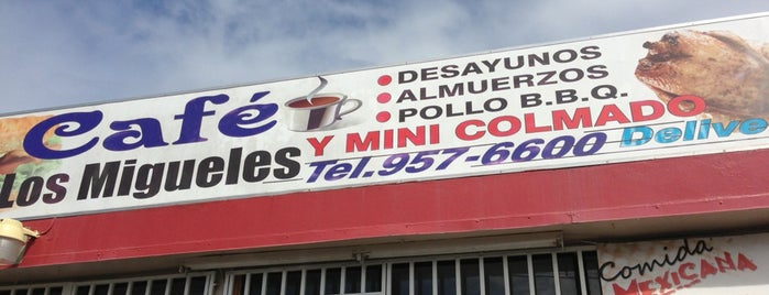 Cafe Los Migueles is one of Puerto Rico.