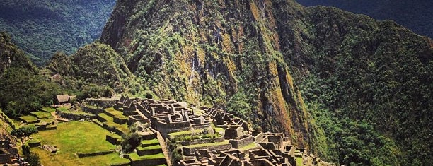 Machu Picchu is one of South America.