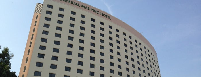 Imperial Mae-Ping Hotel is one of Jackさんのお気に入りスポット.