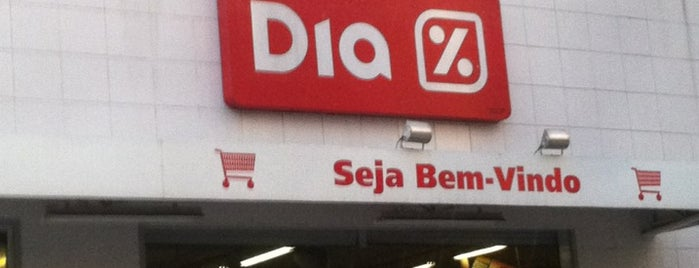 Dia Supermercado is one of places.