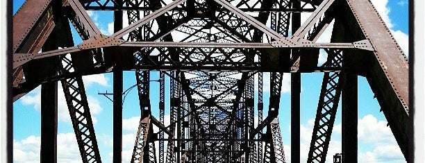 Old Chain of Rocks Bridge is one of USA.