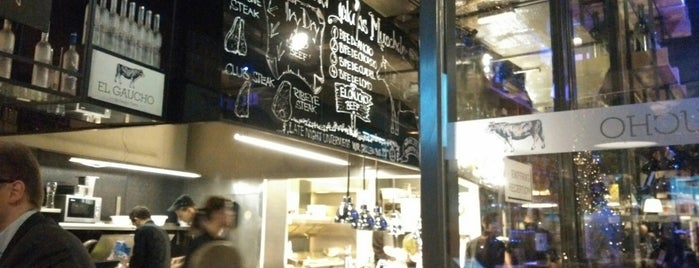 El Gaucho is one of Vienna's wheelchair accessible restaurants.