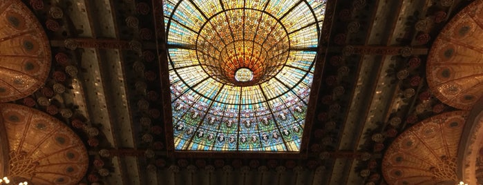 Palais de la musique catalane is one of Places to visit in Barcelona.