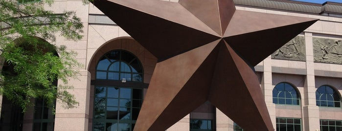 Bullock Texas State History Museum is one of Downtown Entertainment.