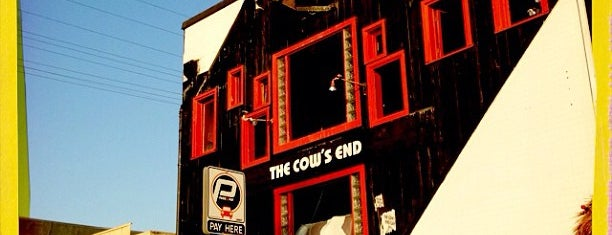 The Cow's End Cafe is one of David & Dana's LA BAR & EATS!.