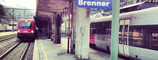 Bahnhof Brenner / Stazione di Brennero is one of Lugares favoritos de Stefan.