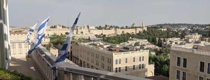 Rooftop is one of Jerusalem, The Jesus HQ.