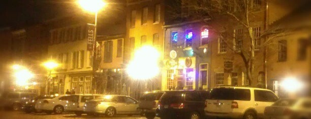 The Point in Fells is one of Baltimore Sun's 50 Best Bars (2013).