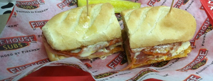 Firehouse Subs is one of Trudy's list.