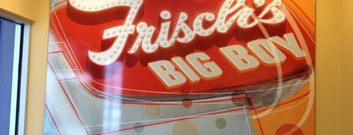 Frisch's Big Boy is one of Orte, die Brian gefallen.