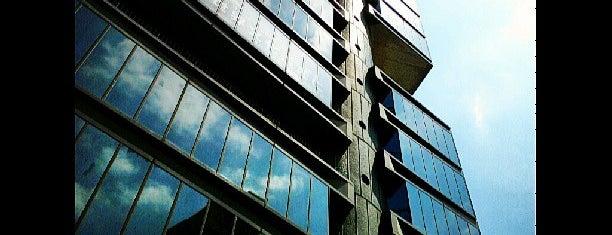 静岡新聞・静岡放送東京支社ビル is one of 丹下健三の建築 / List of Kenzo Tange buildings.