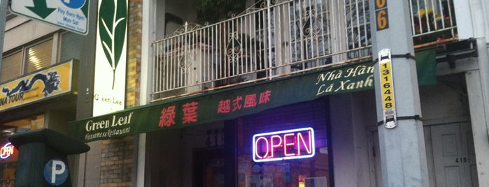 Green Leaf Vietnamese Restaurant is one of Posti salvati di Christine.