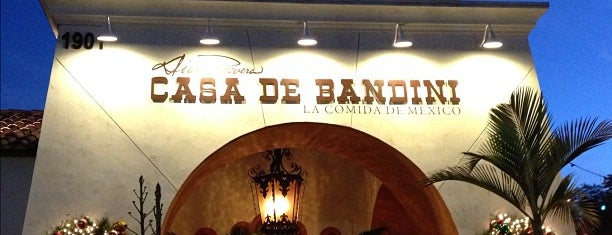 Casa De Bandini is one of Lieux qui ont plu à Hann.