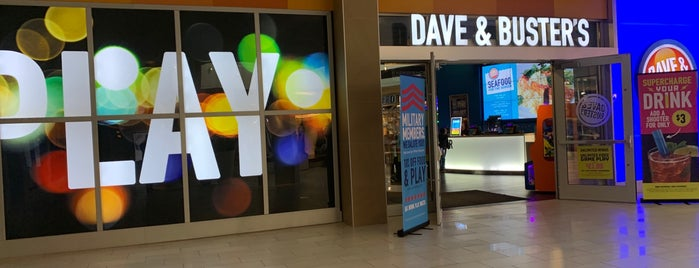 Dave & Buster's is one of San Diego.