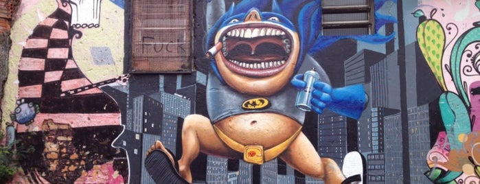 Beco do Batman is one of Onde levar gringos em Sampa.