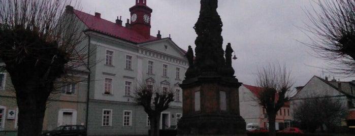 Masarykovo náměstí is one of Posti che sono piaciuti a Rus.