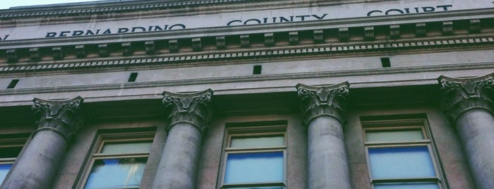 San Bernardino County Court is one of Mo's Liked Places.