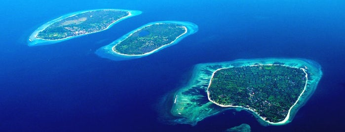 Gili Trawangan is one of Indonesia.