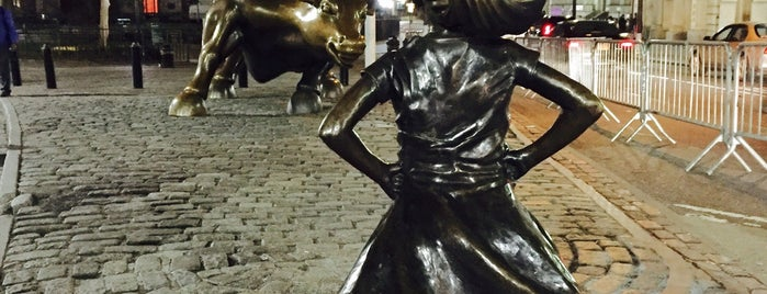 Fearless Girl is one of NYC.