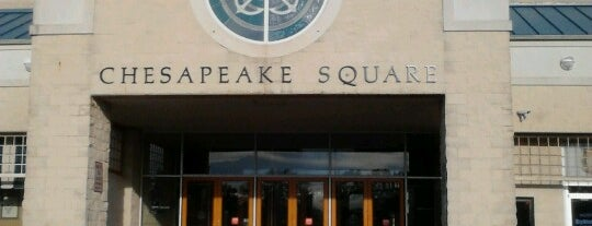 Chesapeake Square Mall is one of Malls I Have Been To.