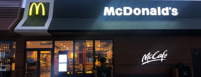McDonald's is one of Marta's Liked Places.