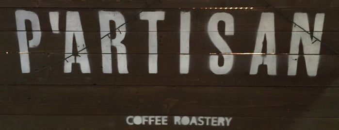 P'ARTISAN COFFEE BAR ONE is one of Foodies to visit.