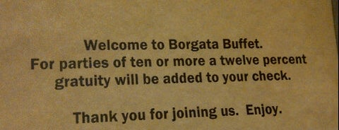Borgata Buffet is one of Locais curtidos por Michael.