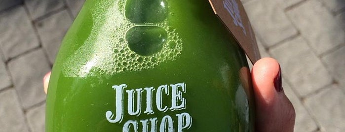 Juice Shop is one of Tastes that Make the City: San Francisco.