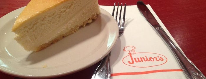 Junior's Restaurant is one of The Tastes that Make the City: New York Edition.