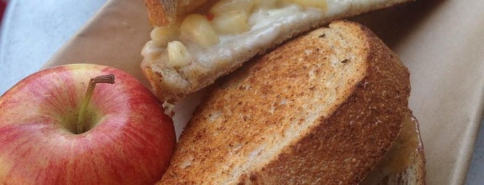 The American Grilled Cheese Kitchen is one of Tastes that Make the City: San Francisco.
