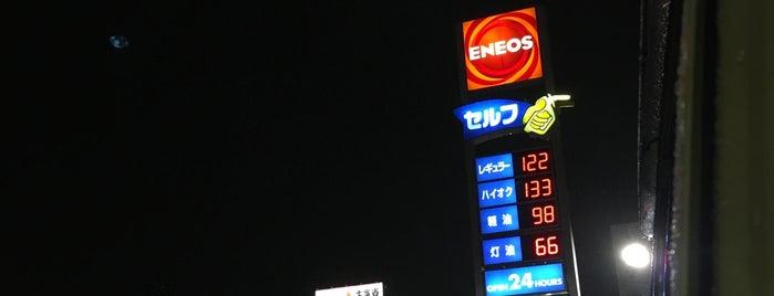 ENEOS is one of 高井'ın Beğendiği Mekanlar.